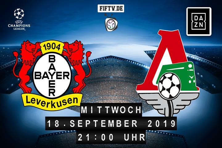 Bayer Leverkusen - Lokomotive Moskau Spielankündigung