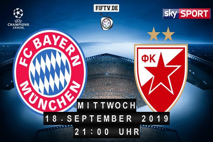 Bayern München - Roter Stern Belgrad Spielankündigung