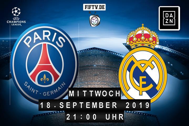 Paris Saint Germain - Real Madrid Spielankündigung