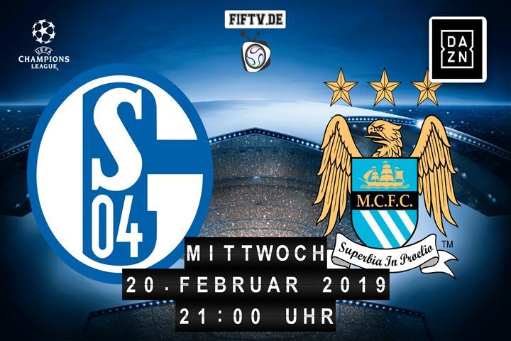 Schalke 04 - Manchester City Spielankündigung