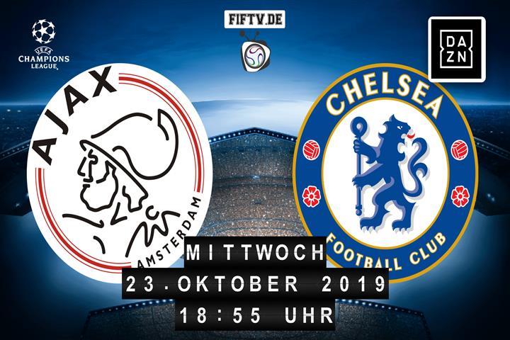 Ajax Amsterdam - Chelsea London Spielankündigung