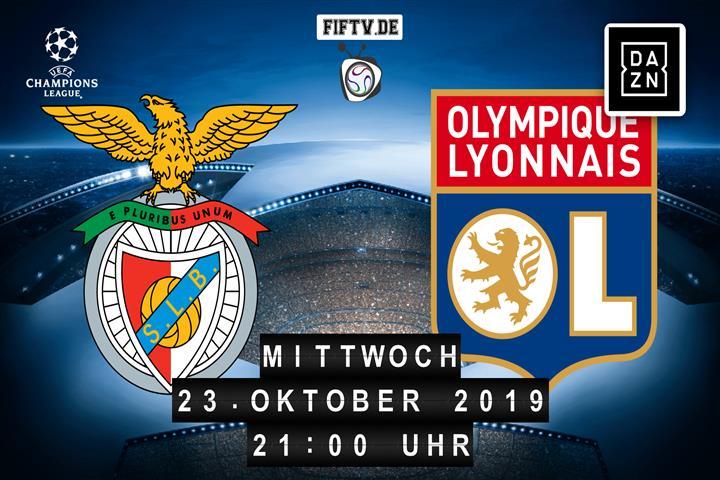 Benfica Lissabon - Olympique Lyon Spielankündigung