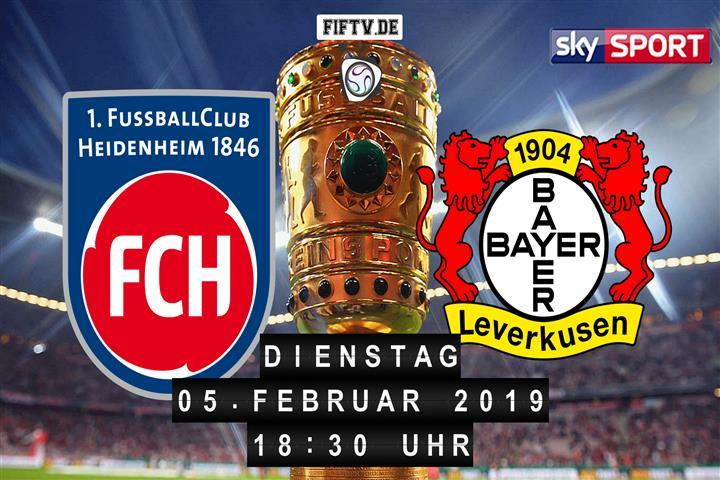 1.FC Heidenheim - Bayer Leverkusen Spielankündigung