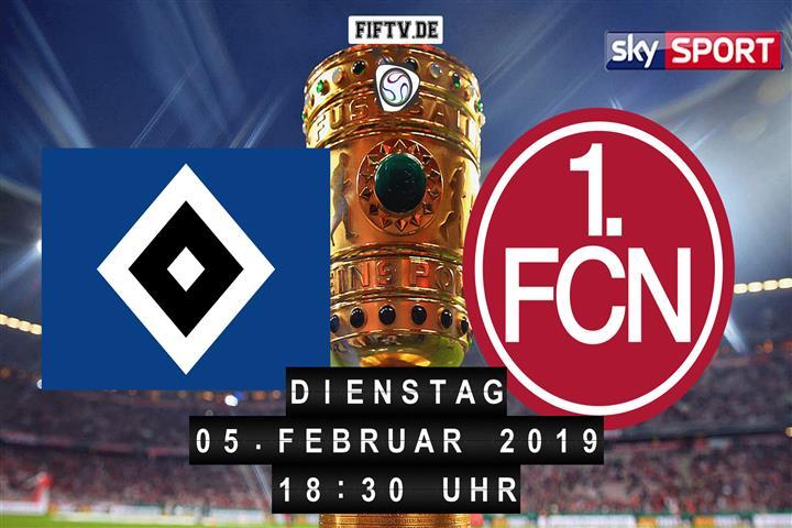 Hamburger SV - 1.FC Nürnberg Spielankündigung