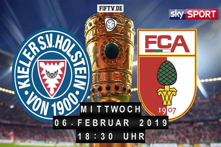 Holstein Kiel Fc Augsburg Fußball Live Im Tv