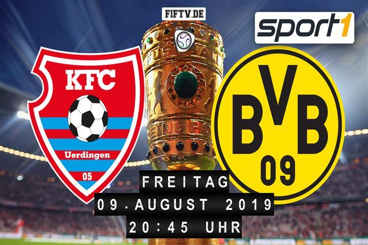KFC Uerdingen 05 - Borussia Dortmund Spielankündigung