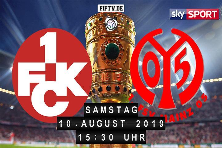 1.FC Kaiserslautern - FSV Mainz 05 Spielankündigung