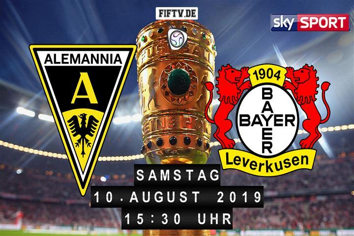 Alemannia Aachen - Bayer Leverkusen Spielankündigung