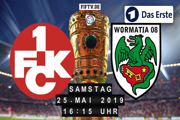 1. FC Kaiserslautern - VfR Wormatia Worms Spielankündigung