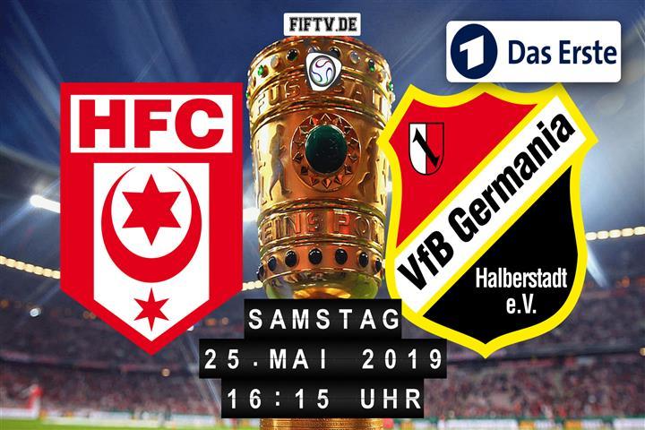 Hallescher FC - Germania Halberstadt Spielankündigung