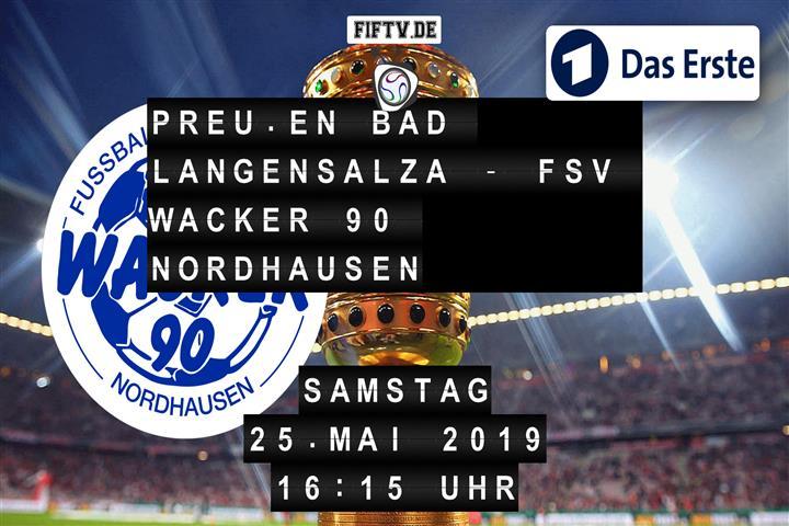 Preußen Bad Langensalza - FSV Wacker 90 Nordhausen Spielankündigung