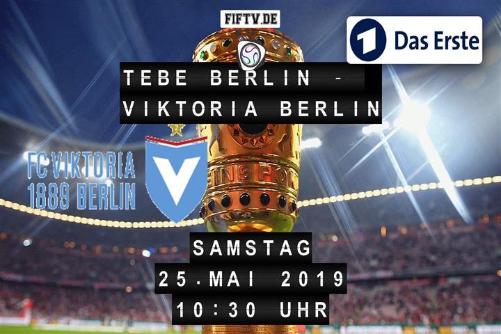 TeBe Berlin - Viktoria Berlin Spielankündigung