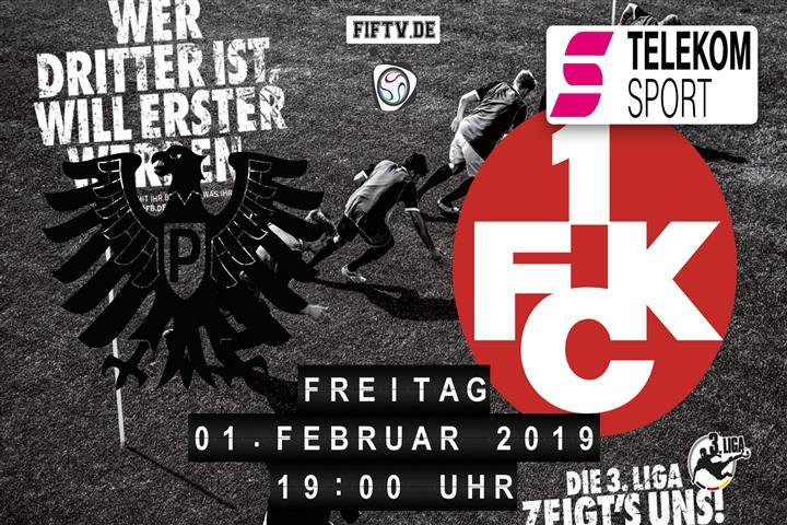 Preussen Münster - 1.FC Kaiserslautern Spielankündigung