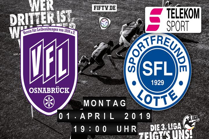 VfL Osnabrück - Sportfreunde Lotte Spielankündigung