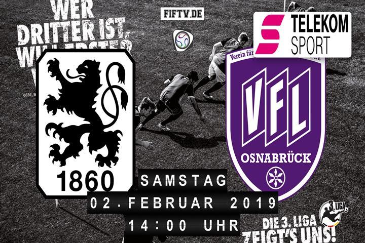 TSV 1860 München - VfL Osnabrück Spielankündigung
