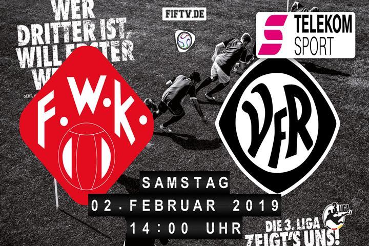 Würzburger Kickers - VfR Aalen Spielankündigung