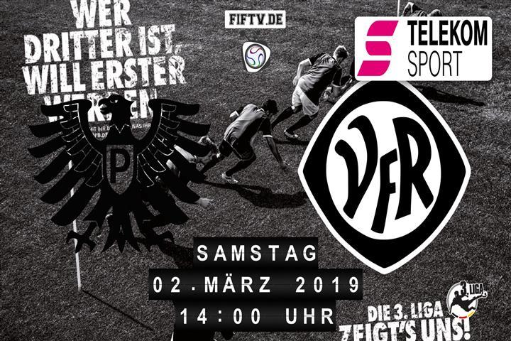Preussen Münster - VfR Aalen Spielankündigung