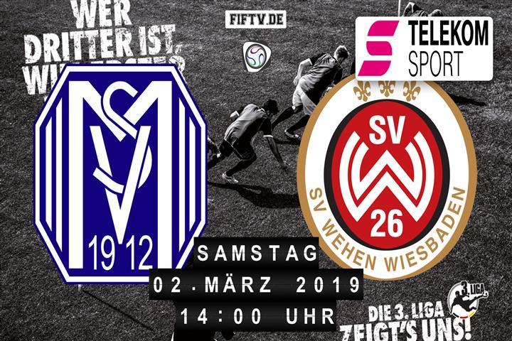 SV Meppen - SV Wehen Wiesbaden Spielankündigung