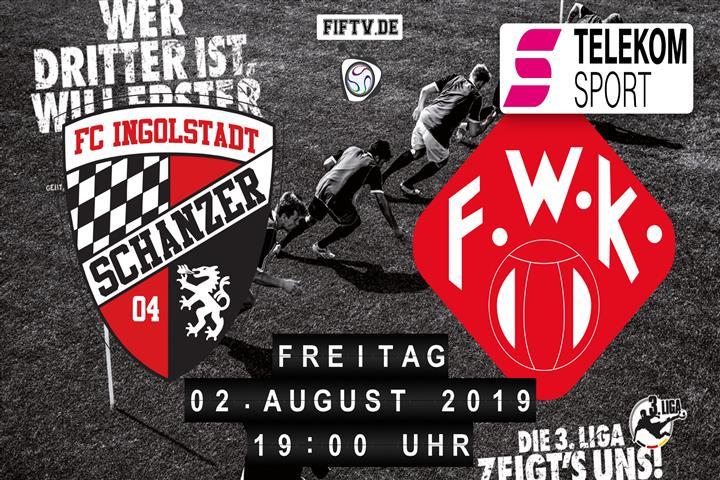 FC Ingolstadt - Würzburger Kickers Spielankündigung