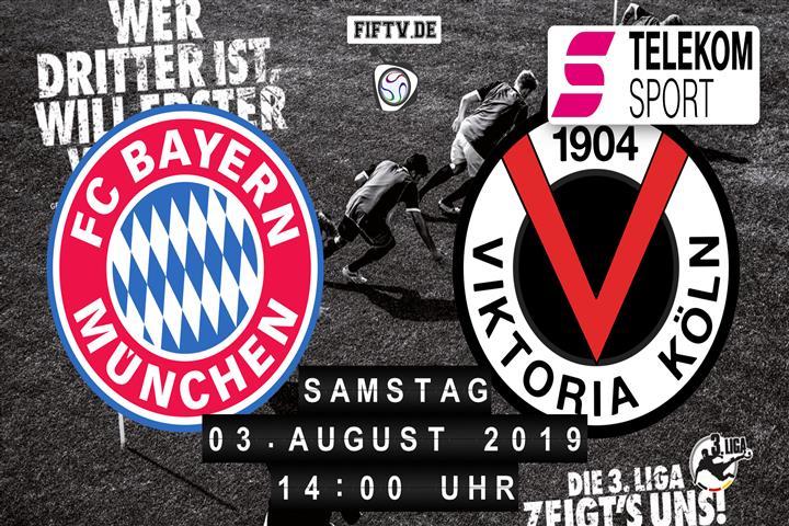 Bayern München II - Viktoria Köln Spielankündigung