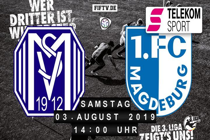 SV Meppen - 1.FC Magdeburg Spielankündigung
