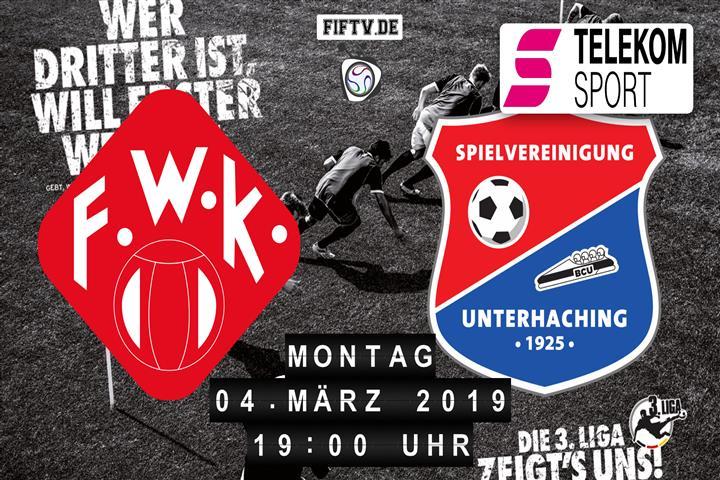 Würzburger Kickers - SpVgg Unterhaching Spielankündigung