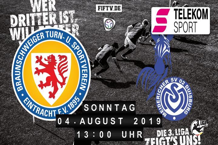 Eintracht Braunschweig - MSV Duisburg Spielankündigung