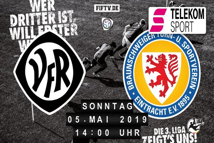 VfR Aalen - Eintracht Braunschweig Spielankündigung
