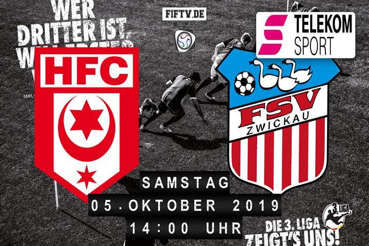 Hallescher FC - FSV Zwickau Spielankündigung