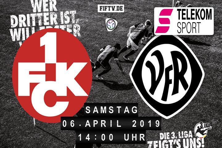 1.FC Kaiserslautern - VfR Aalen Spielankündigung