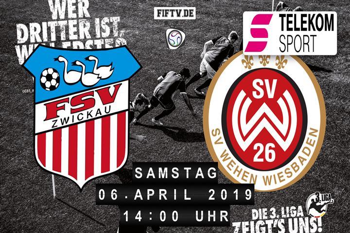 FSV Zwickau - SV Wehen Wiesbaden Spielankündigung