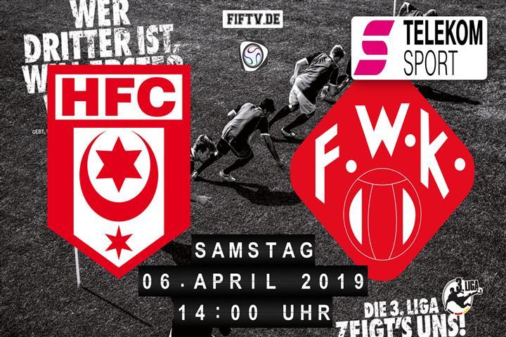 Hallescher FC - Würzburger Kickers Spielankündigung