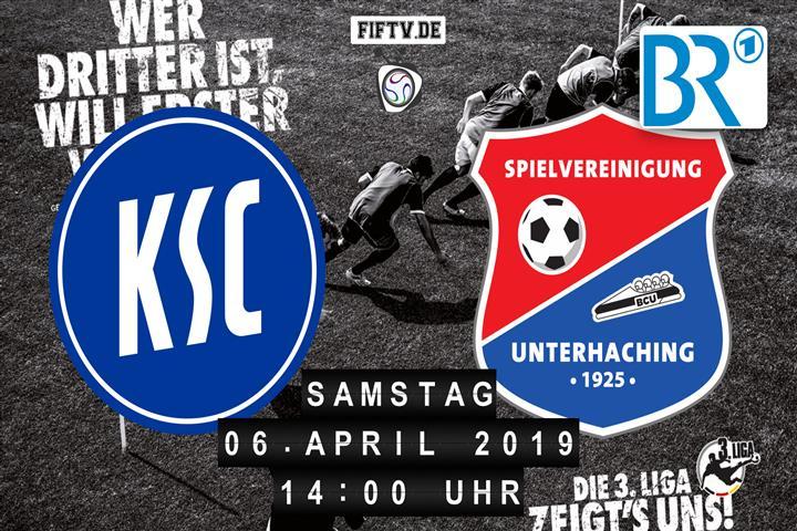 Karlsruher SC - SpVgg Unterhaching Spielankündigung