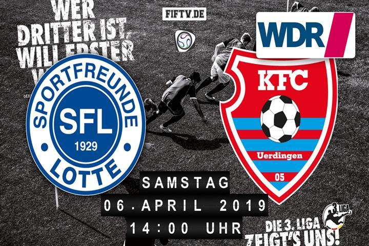 Sportfreunde Lotte - KFC Uerdingen 05 Spielankündigung
