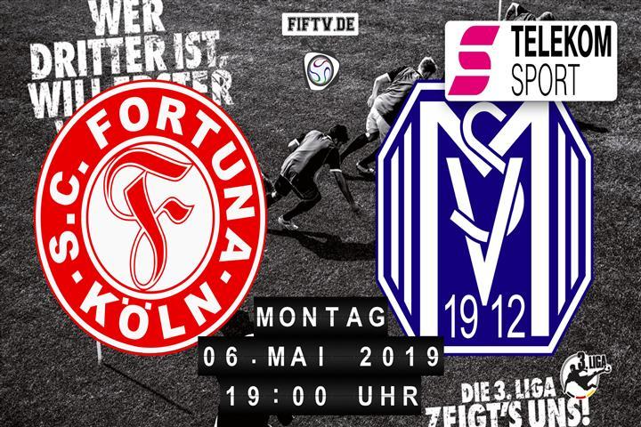 Fortuna Köln - SV Meppen Spielankündigung