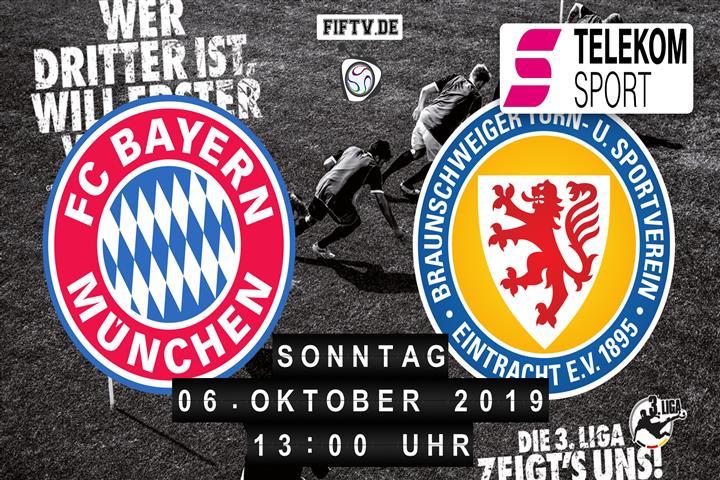 Bayern München II - Eintracht Braunschweig Spielankündigung