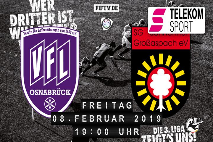 VfL Osnabrück - Sonnenhof Großaspach Spielankündigung