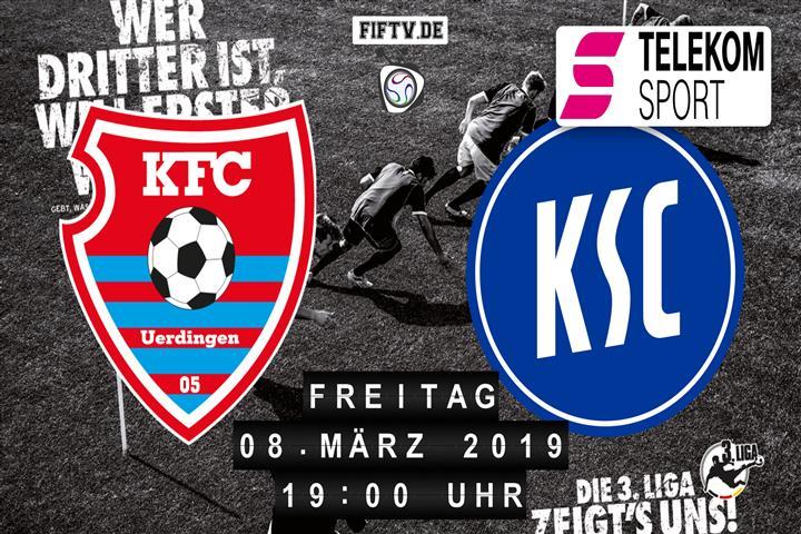KFC Uerdingen 05 - Karlsruher SC Spielankündigung