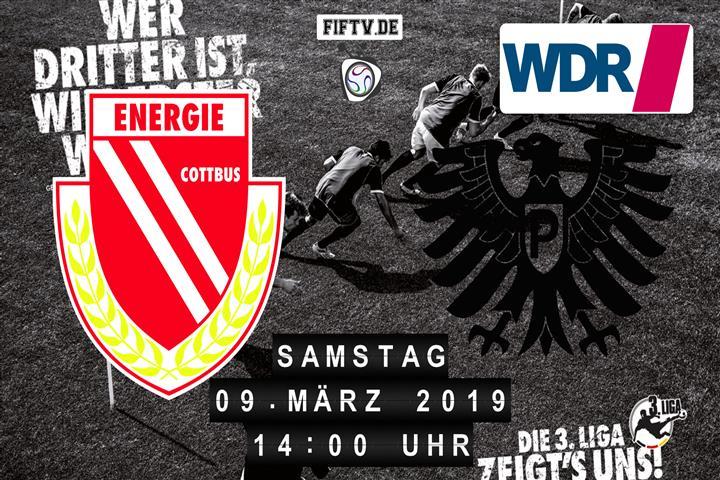Energie Cottbus - Preussen Münster Spielankündigung