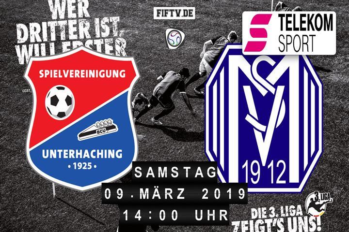 SpVgg Unterhaching - SV Meppen Spielankündigung