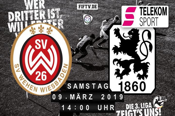 SV Wehen Wiesbaden - TSV 1860 München Spielankündigung