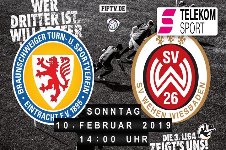 Eintracht Braunschweig - SV Wehen Wiesbaden Spielankündigung