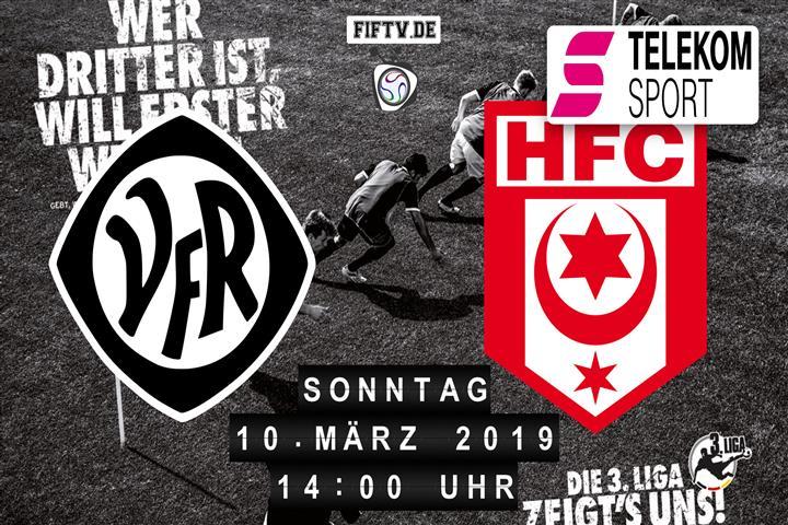 VfR Aalen - Hallescher FC Spielankündigung
