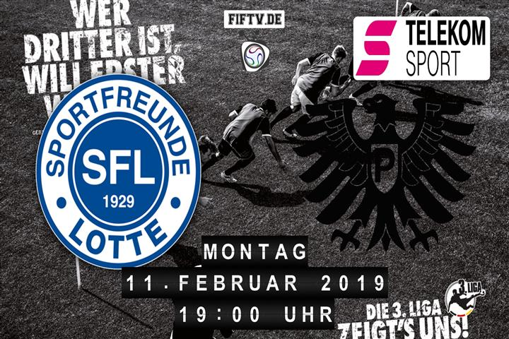 Sportfreunde Lotte - Preussen Münster Spielankündigung