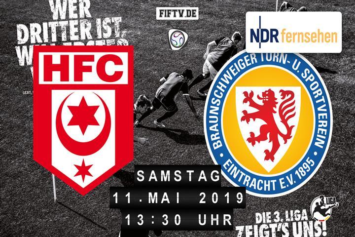 Hallescher FC - Eintracht Braunschweig Spielankündigung
