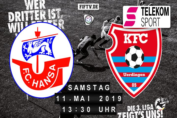 Hansa Rostock - KFC Uerdingen 05 Spielankündigung