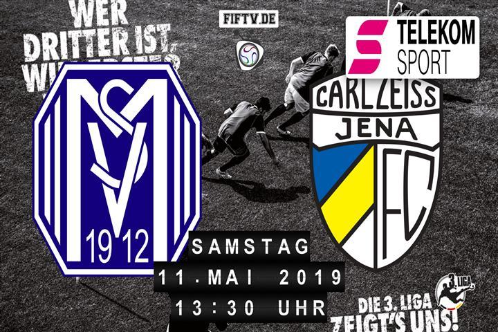 SV Meppen - Carl Zeiss Jena Spielankündigung