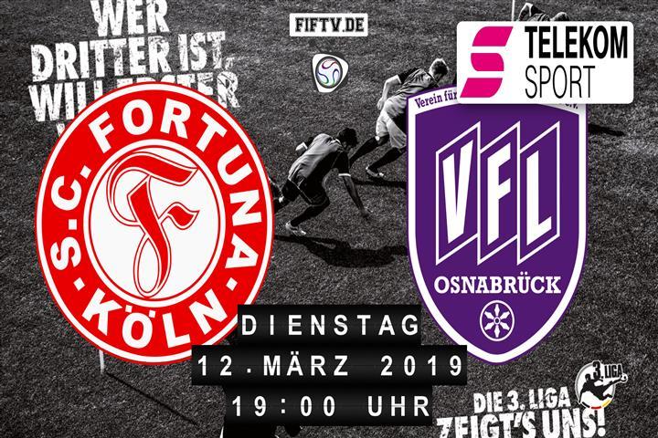 Fortuna Köln - VfL Osnabrück Spielankündigung