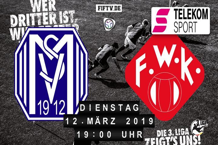 SV Meppen - Würzburger Kickers Spielankündigung