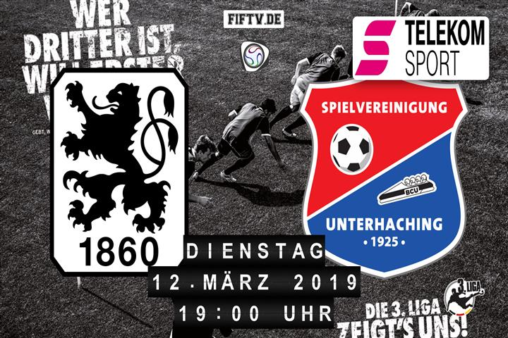 TSV 1860 München - SpVgg Unterhaching Spielankündigung